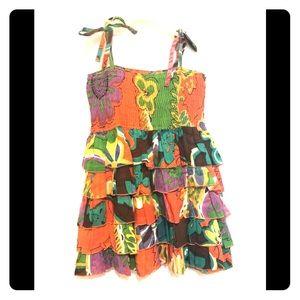 Toddler girl ruffle summer dress